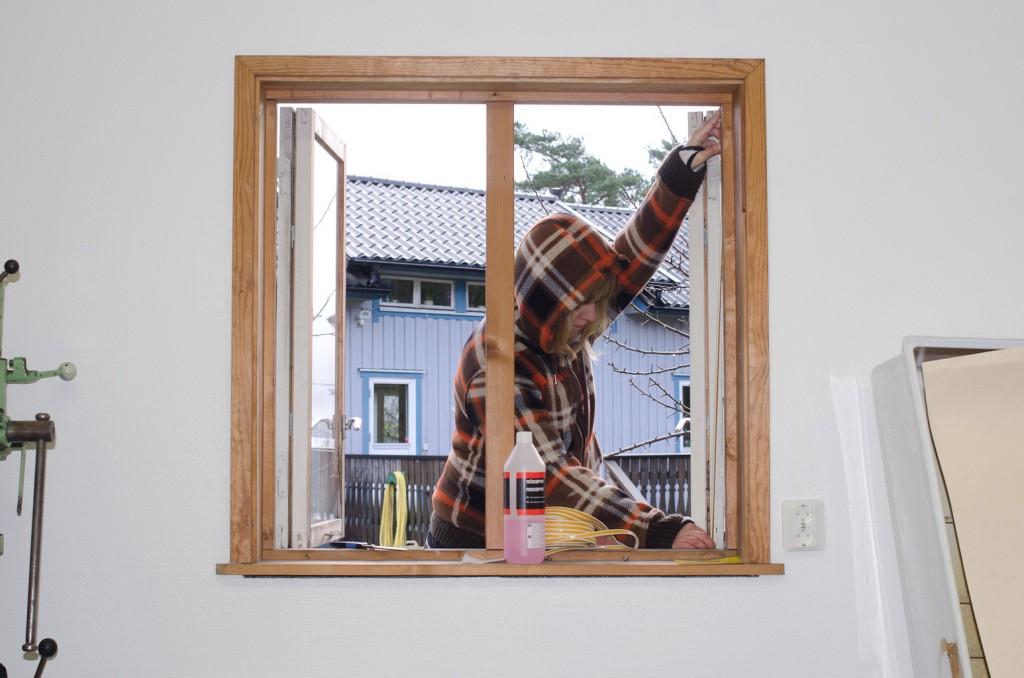 Mia tätar fönster