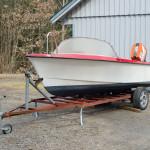 Vår femtonfots Selco motorbåt