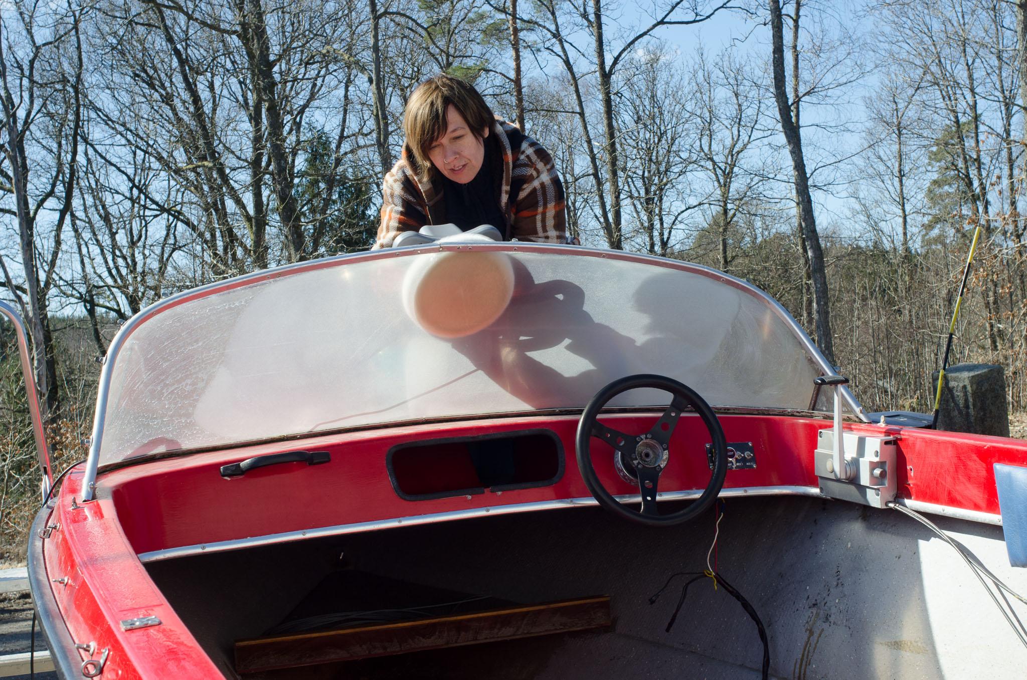 vajer på båt